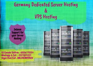 Germany Dedicated Server Hosting and VPS Hosting at low price