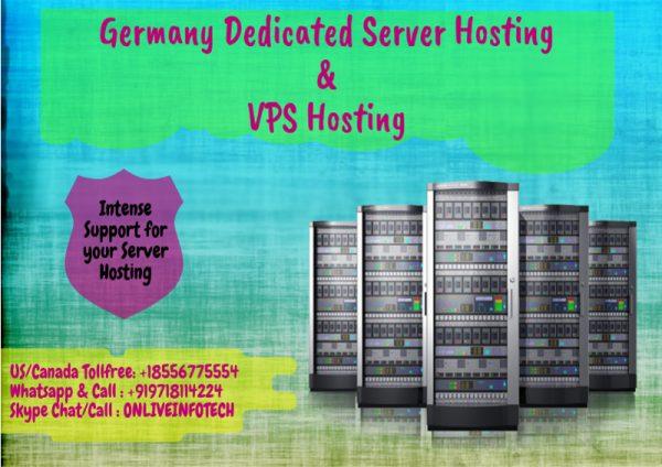 Germany Dedicated Server Hosting and VPS Hosting at low price
