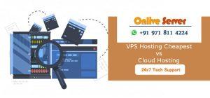 Cloud Server vs VPS Server Hosting